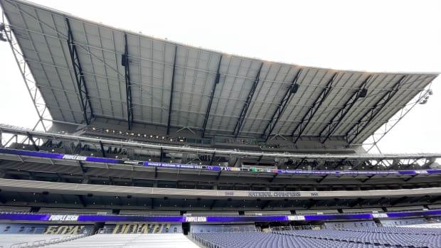 Husky Stadium's south side.