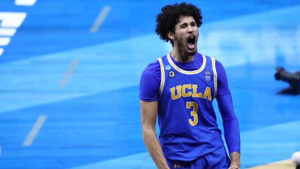 UCLA's Johnny Juzang