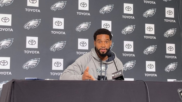 Eagles CB Darius Slay talked about his return to Detroit for Week 8 game against Lions