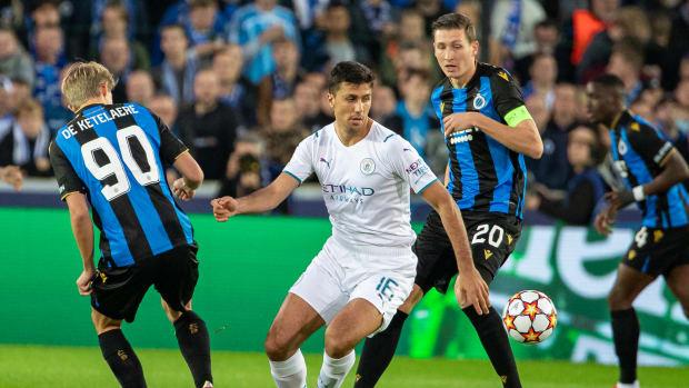 Rodri vs Club Brugge