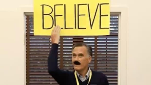 Mitt Romney Ted Lasso