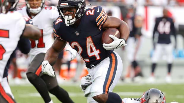 Chicago Bears Khalil Herbert