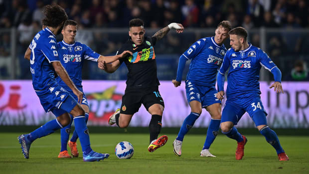 Inter Milan star Lautaro Martinez