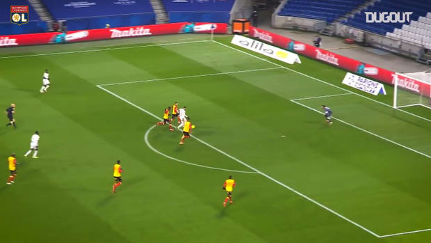 Lyon great home win vs Lens