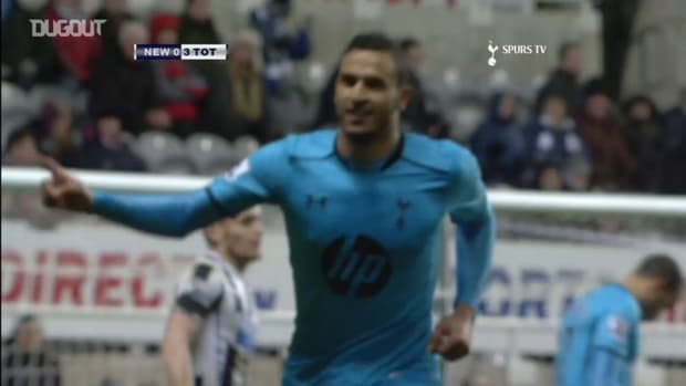 Chadli's incredible goal helps Spurs thrash Newcastle