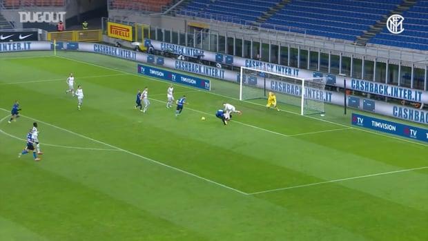 Inter put three 3 past Bologna