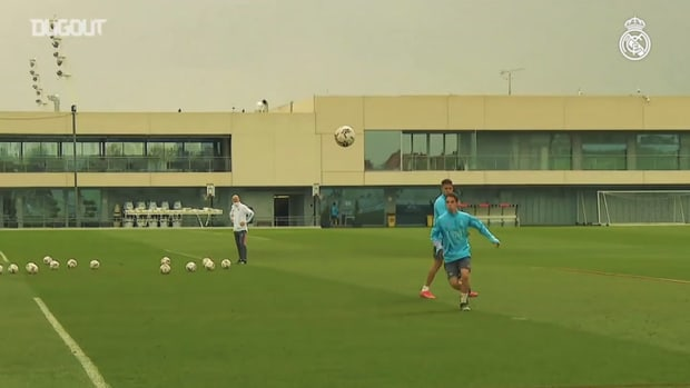 Real Madrid welcomes several of the internationals back to training