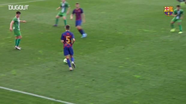Ilaix Moriba's top goals at La Masia