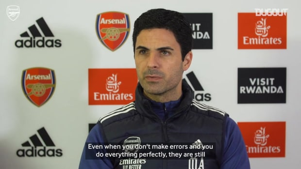 Arteta on giving nothing to Liverpool, Saka and projects