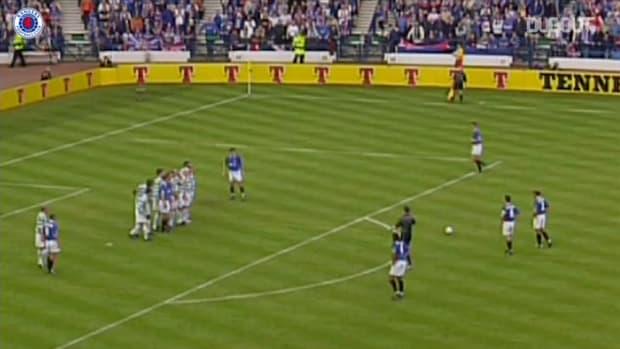 Barry Ferguson's remarkable free-kick vs Celtic