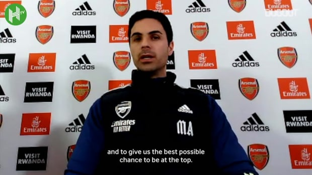 Arteta addresses Aubameyang concerns