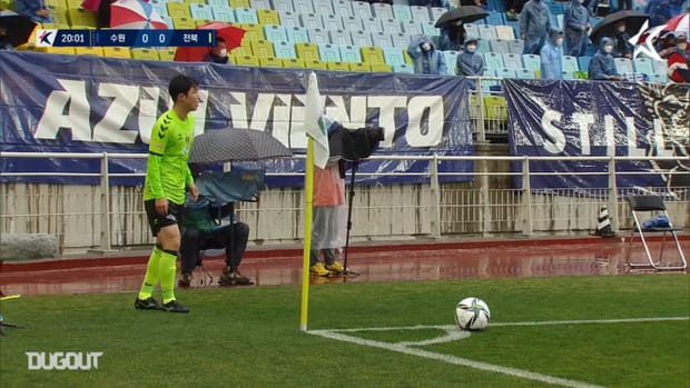 Suwon 1-3 Jeonbuk: Iljutcenko sinks Bluewings