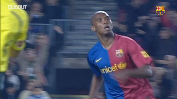 Samuel Eto'o hits four goals in 6-0 win against Valladolid