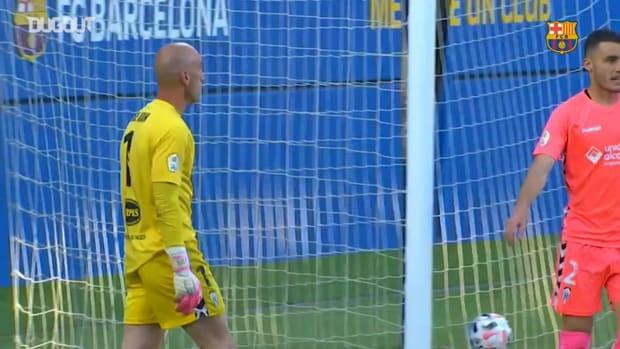 Alex Collado's stunning free-kick against Alcoyano