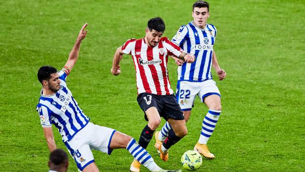 Real Sociedad take on Athletic Bilbao