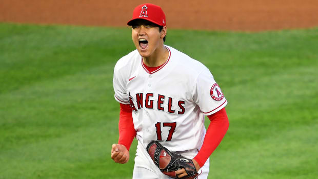 Angels pitcher Shohei Ohtani