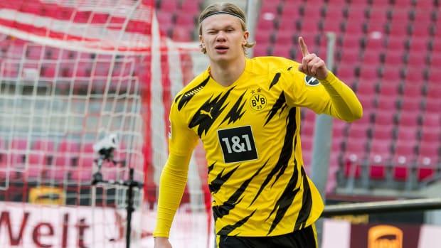 Dortmund star Erling Haaland