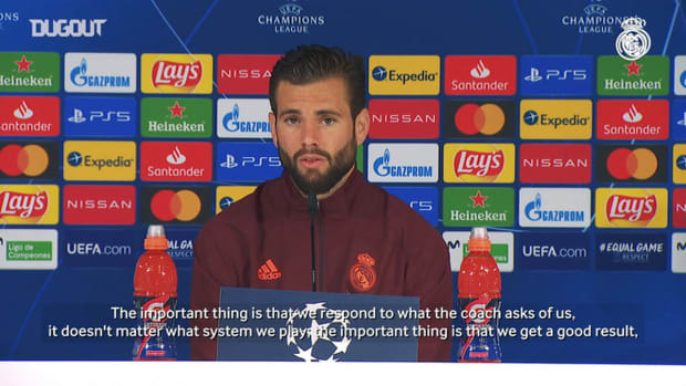Nacho: 'We have to give our all to get a good result'
