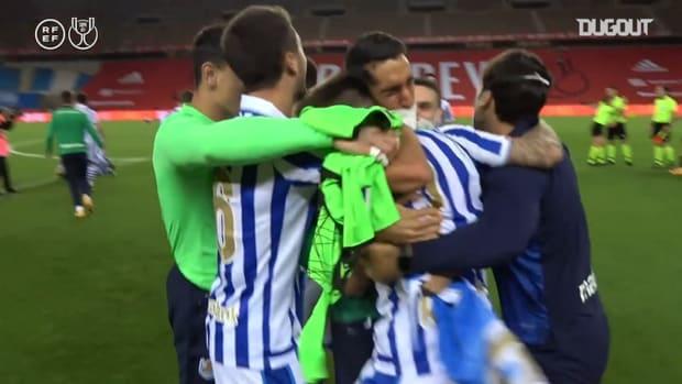 Behind the scenes: Real Sociedad's Copa del Rey celebrations