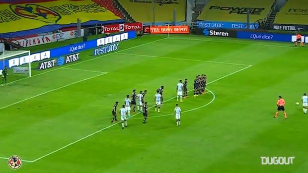 Richard Sánchez's free-kick goal vs Necaxa