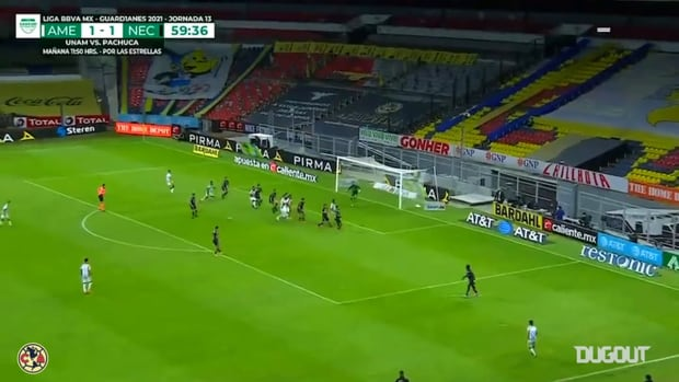 Giovani Dos Santos's decisive goal vs Necaxa
