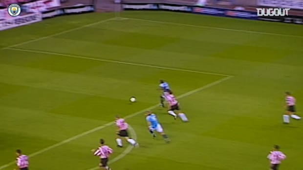 Alf-Inge Håland's best moments for Manchester City