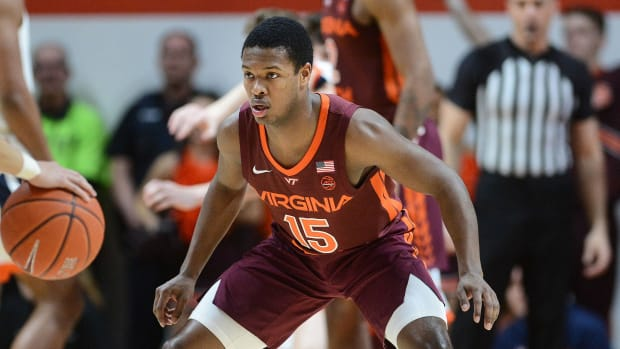 Virginia Tech player Jalen Cone, who is transferring