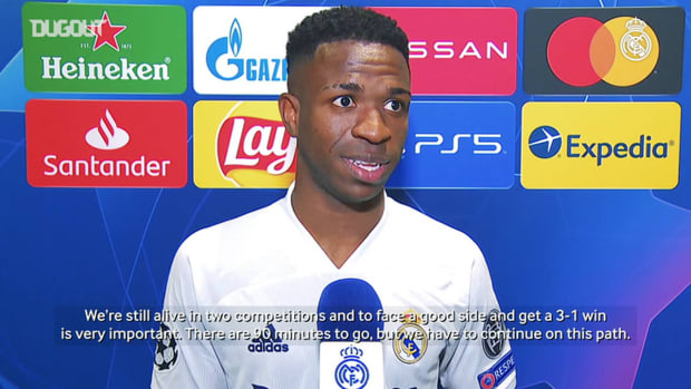 Vinicius Jr.: 'We have to continue on this path'