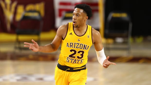Marcus Bagley with the Sun Devils.
