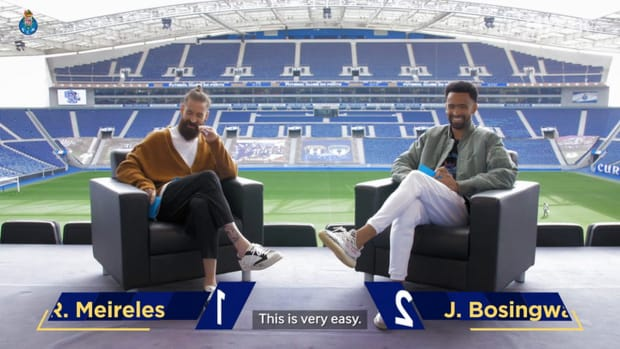 Meireles and Bosingwa get quizzed on FC Porto and Chelsea