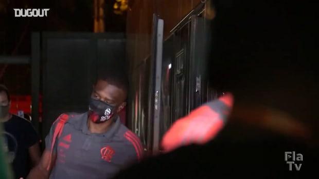 Behind the scenes of Flamengo's victory over Madureira