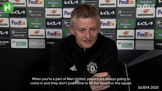 Solskjær on De Gea and competition for places