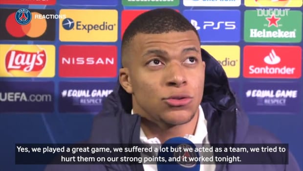 Mbappé: ' We played a great game '