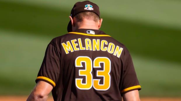 San Diego Padres Mark Melancon