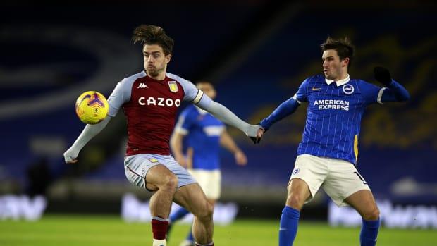 Jack Grealish vs Brighton