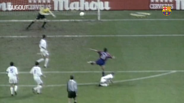 All Luis Enrique's goals vs Real Madrid