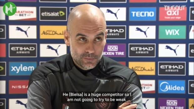 Guardiola overwhelmed with Bielsa praise