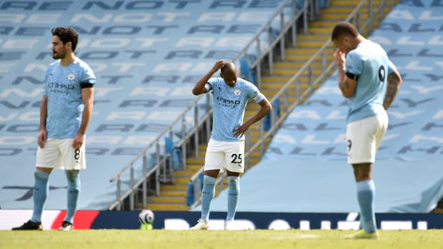 Manchester City lose to Leeds