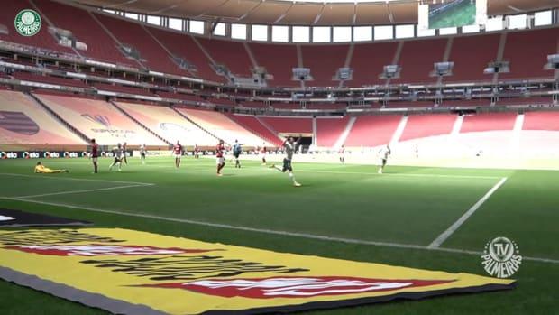 Raphael Veiga's amazing skill and goal vs Flamengo in Brasília