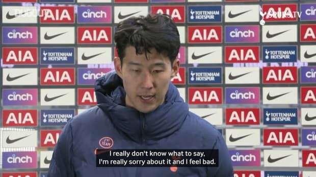 Son Heung-min: I don't care about the goal, I don't know what to say