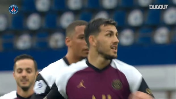 Leandro Paredes 's stunning free-kick against Strasbourg