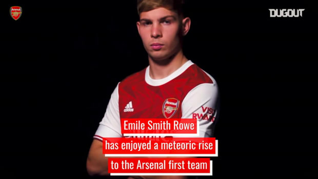 Emile Smith Rowe's rise through Arsenal's ranks