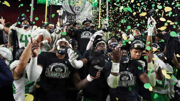 Ducks Pac-12 Champs 2020