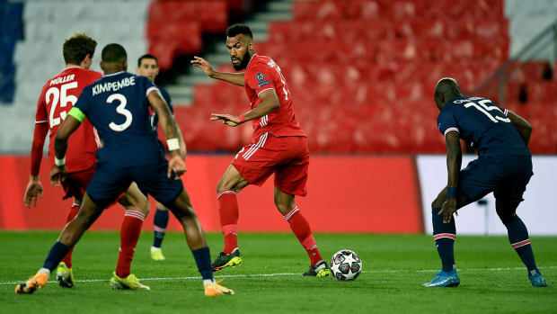 Bayern's Eric Maxim Choupo-Moting against PSG