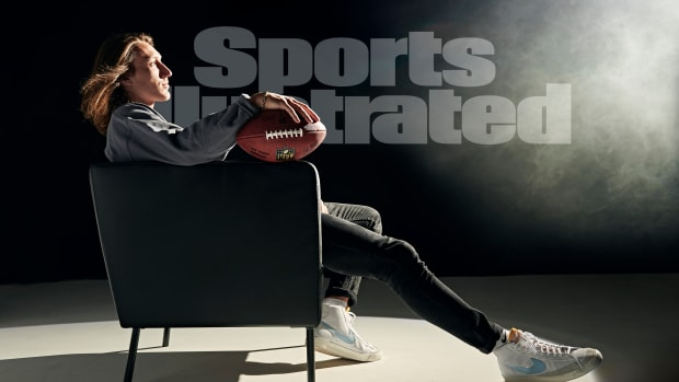 Trevor Lawrence on the Sports Illustrated cover