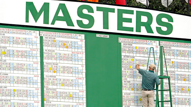 Masters Tournament ratings