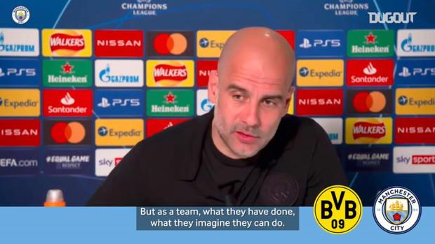 Pep Guardiola previews Borussia Dortmund threat ahead of second leg