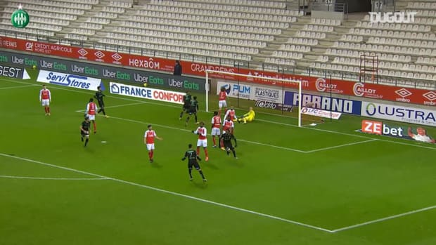Charles Abi's goals with Saint-Etienne so far