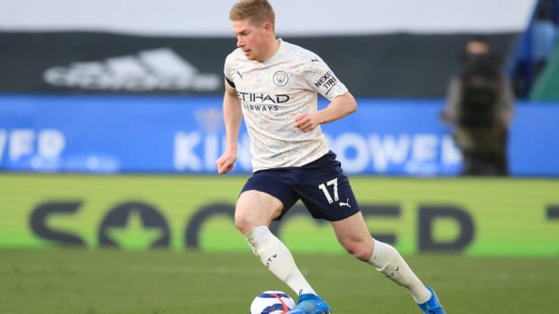 Kevin De Bruyne for Manchester City