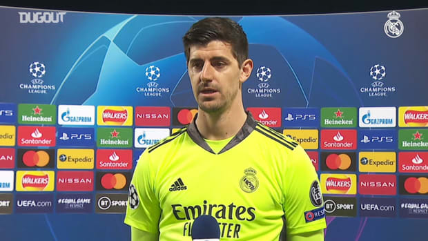 Thibaut Courtois: 'Defensively we ran as if we had twelve men on the pitch'
